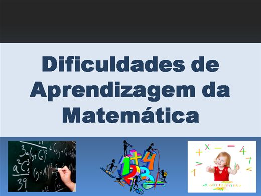Curso Online de Dificuldades de Aprendizagem da Matemática