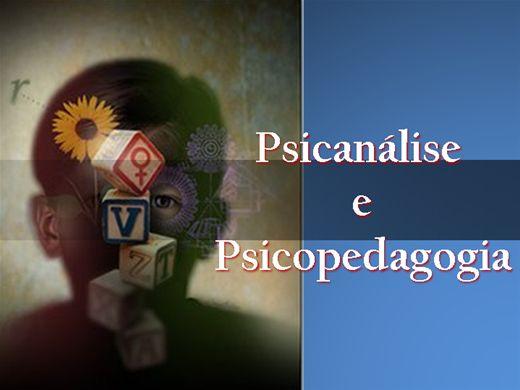 Curso Online de Psicanálise e Psicopedagogia