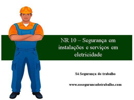 Curso Online de NR 10 ? Segurança em instalações e serviços em eletricidade