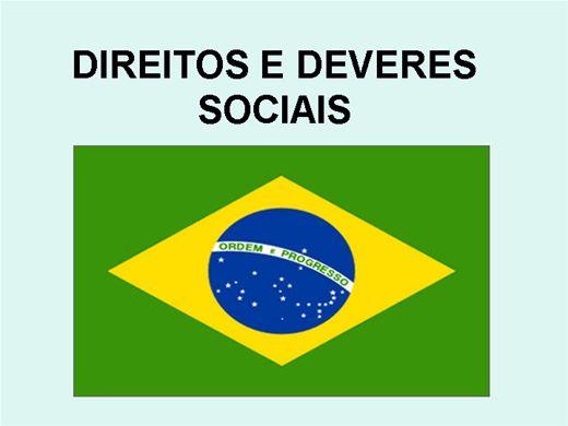 Curso Online de DIREITOS E DEVERES SOCIAIS