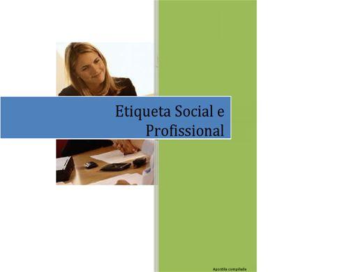 Curso Online de Etiqueta Social e Profissional