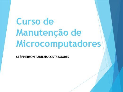Curso Online de Hardware e Manutenção de Computadores