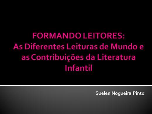 Curso Online de Formando Leitores: As Diferentes Leituras de Mundo e as Contribuições da Literatura Infantil