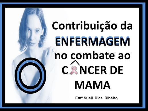 Curso Online de Contribuição da ENFERMAGEM no combate ao CÂNCER DE MAMA.