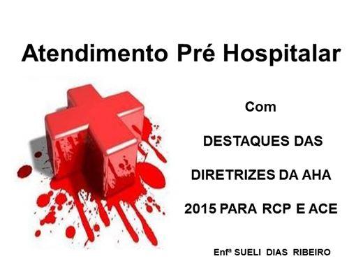 Curso Online de Atendimento Pré Hospitalar