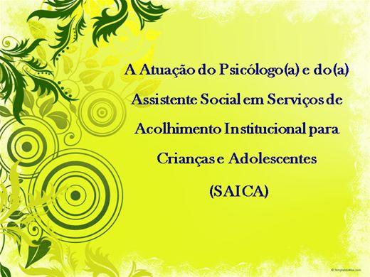 Curso Online de A Atuação do Psicólogo e do Assistente Social em SAICA