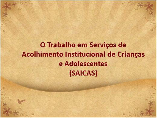Curso Online de O trabalho em serviços de acolhimento institucional (SAICA)