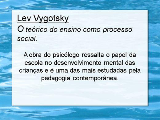 Curso Online de Lev Vygotsky