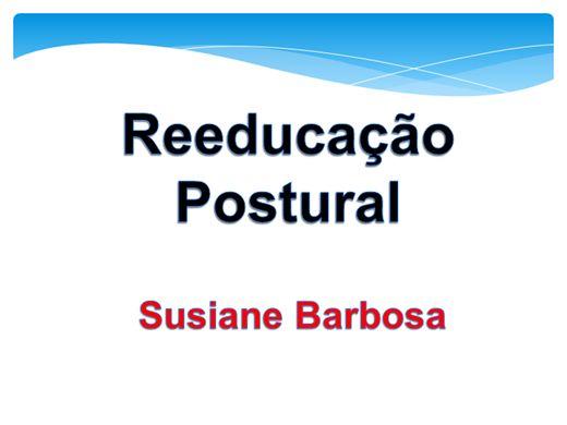 Curso Online de REEDUCAÇAO POSTURAL