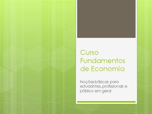 Curso Online de Fundamentos de Economia