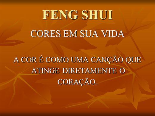 Curso Online de Feng Shui - As Cores na sua Vida