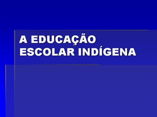 Curso Online de A Educação Escolar Indígena (EEI)