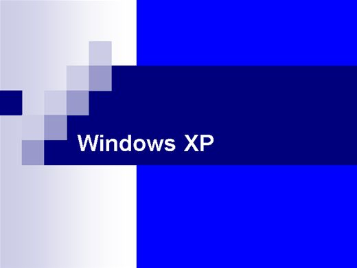 Curso Online de Windows XP