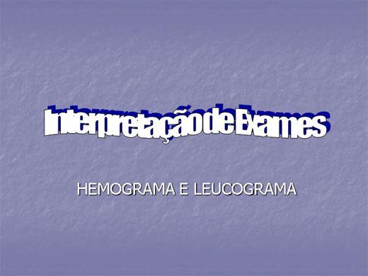 Curso Online de Interpretação de exames (hemograma e leucograma)