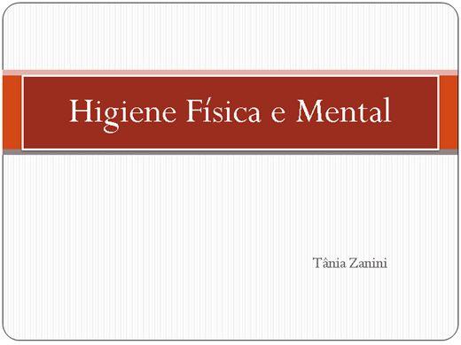 Curso Online de Higiene Física e Mental