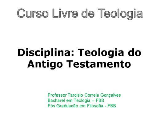 Curso Online de Curso Livre de Teologia : CIÊNCIAS DAS RELIGIÕES