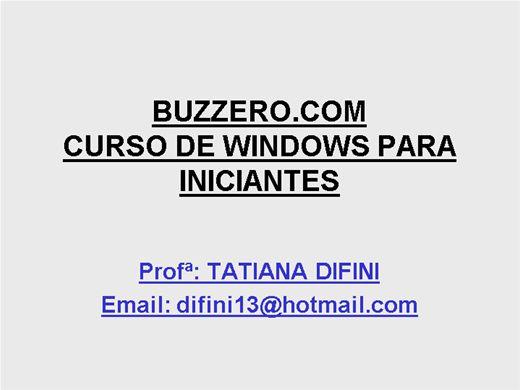 Curso Online de Informática para Leigos