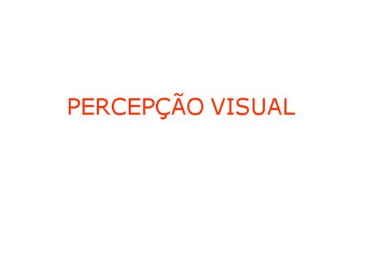 Curso Online de PERCEPÇÃO VISUAL DESIGN
