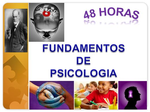 Curso Online de Fundamentos de Psicologia (48 horas)