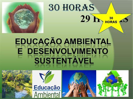 Curso Online de Educação Ambiental e Desenvolvimento Sustentável