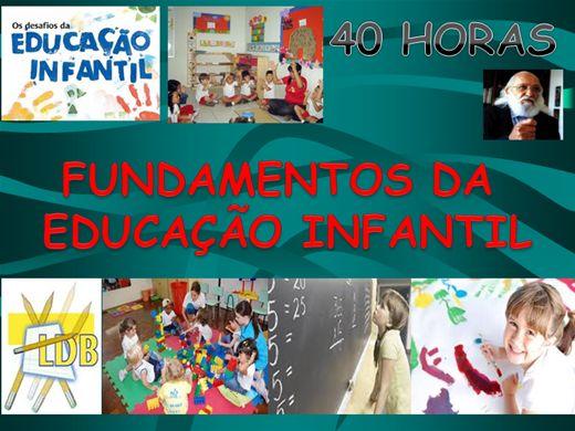 Curso Online de Curso de Fundamentos da Educação Infantil