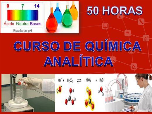 Curso Online de Curso de Química Analítica - 50 horas -