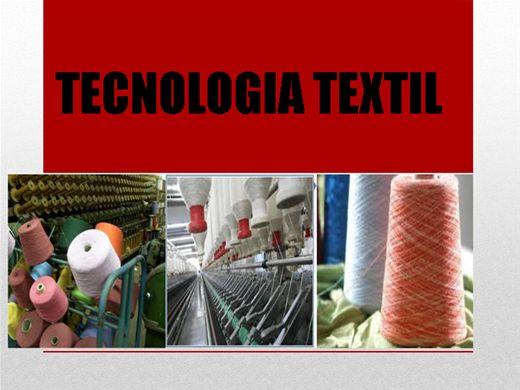 Curso Online de Tecnologia Têxtil