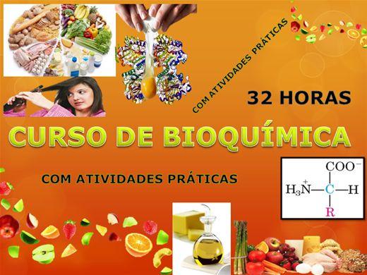 Curso Online de Bioquímica - 32 horas
