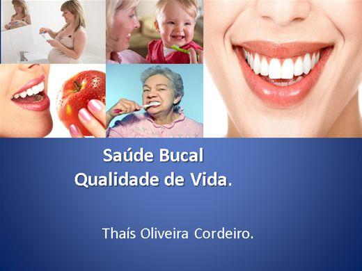 Curso Online de Relação entre saúde bucal e qualidade de vida