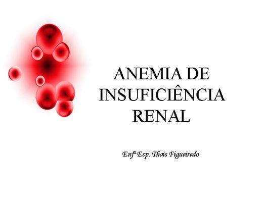 Curso Online de Anemia De Insuficiência Renal