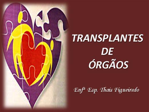 Curso Online de Transplante de Órgãos
