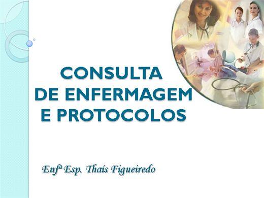 Curso Online de Consulta de Enfermagem e Protocolos