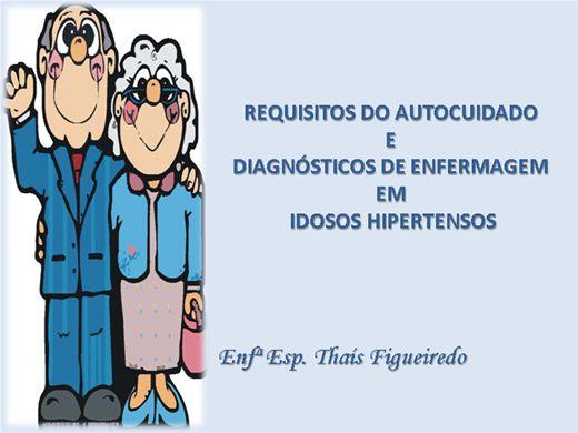 Curso Online de Requisitos do Autocuidado e Diagnósticos de Enfermagem em Idosos Hipertensos