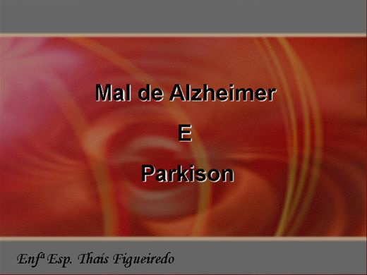 Curso Online de Mal de Alzheimer e Parkinson
