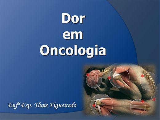Curso Online de Dor Em Oncologia