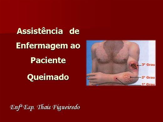 Curso Online de Assistência de Enfermagem ao paciente queimado