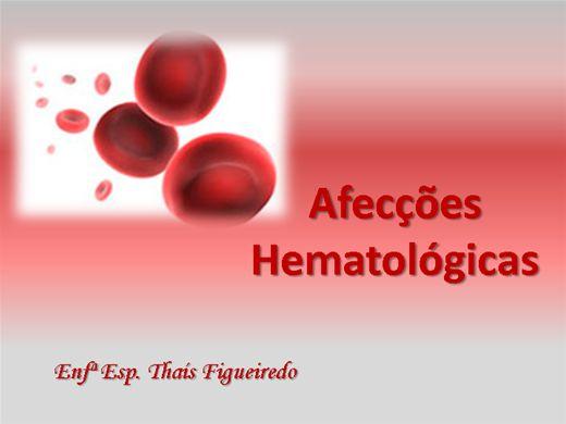 Curso Online de Afecções Hematológicas