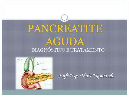 Curso Online de Pancreatite Aguda: Diagnóstico e Tratamento