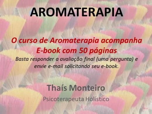 Curso Online de AROMATERAPIA - USO DOS ÓLEOS ESSENCIAIS