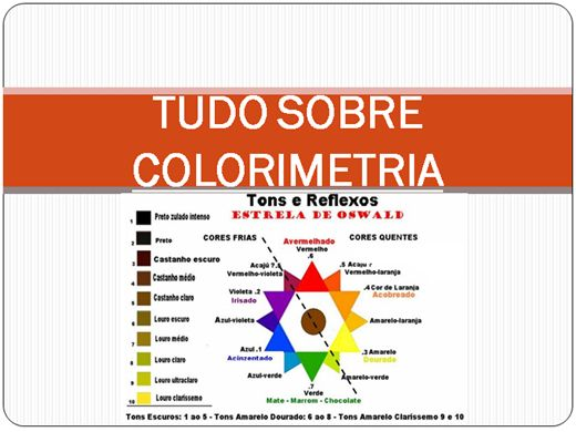 Curso Online de Tudo sobre Colorimetria