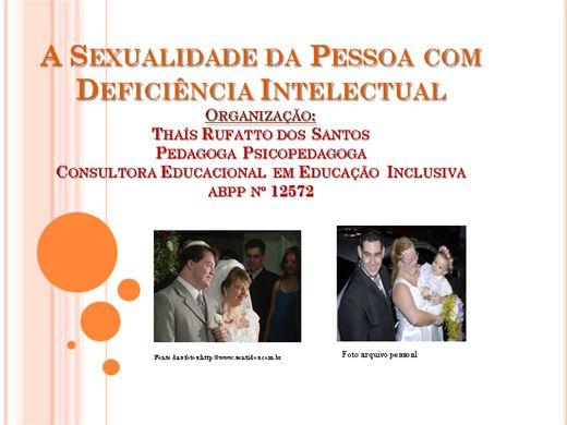 Curso Online de A Sexualidade da Pessoa com Deficiência Intelectual