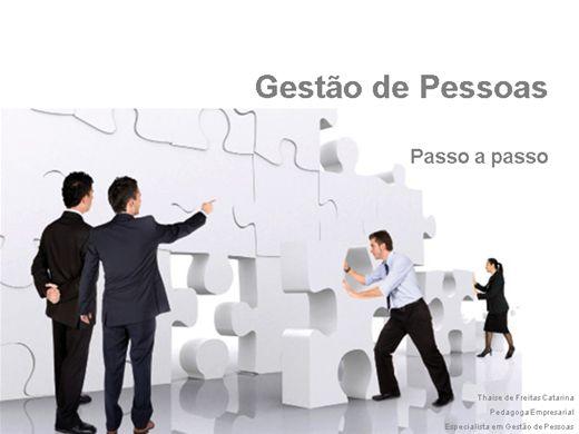 Curso Online de Gestão de Pessoas  - Passo a passo