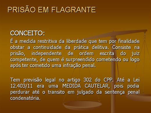 Curso Online de PRISÃO EM FLAGRANTE
