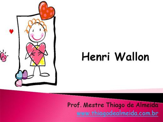 Curso Online de A teoria do desenvolvimento segundo Wallon