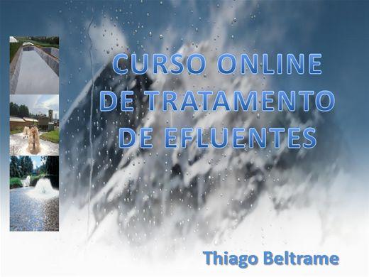 Curso Online de Curso online de tratamento de efluentes