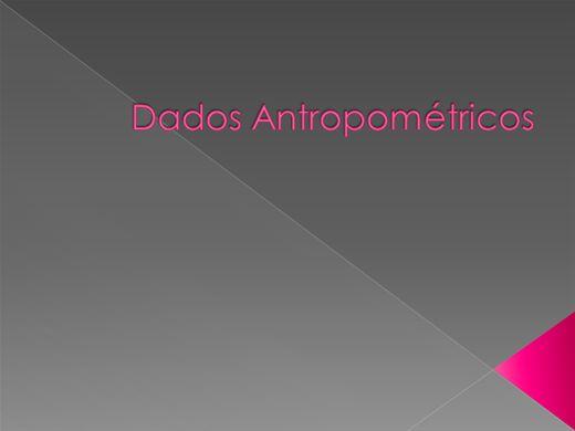 Curso Online de Dados Antropométricos