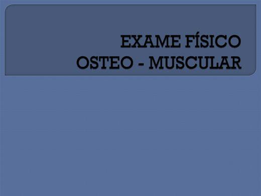 Curso Online de  Exame Físico - CABEÇA   e PESCOÇO