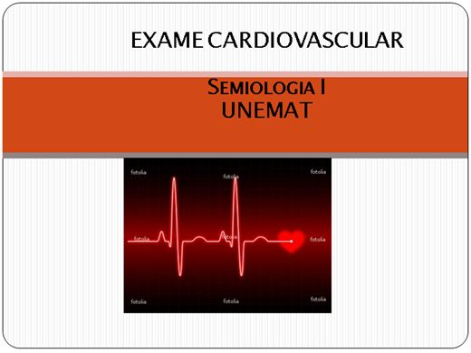 Curso Online de Exame Físico - Cardiovascular