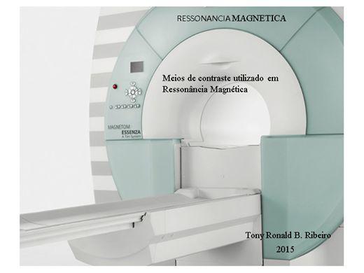 Curso Online de MEIOS DE CONTRASTE UTILIZADO EM RESSONÂNCIA MAGNÉTICA