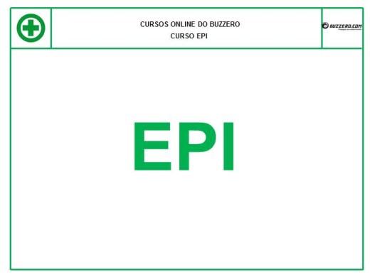 Curso Online de EPI